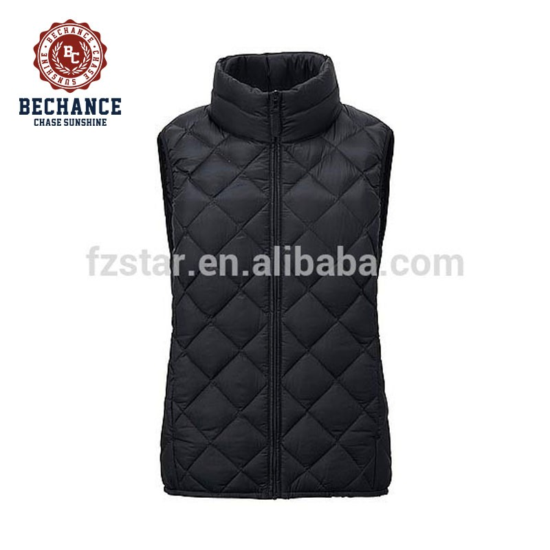 WOMEN Ultra Light Down Quilted Vest