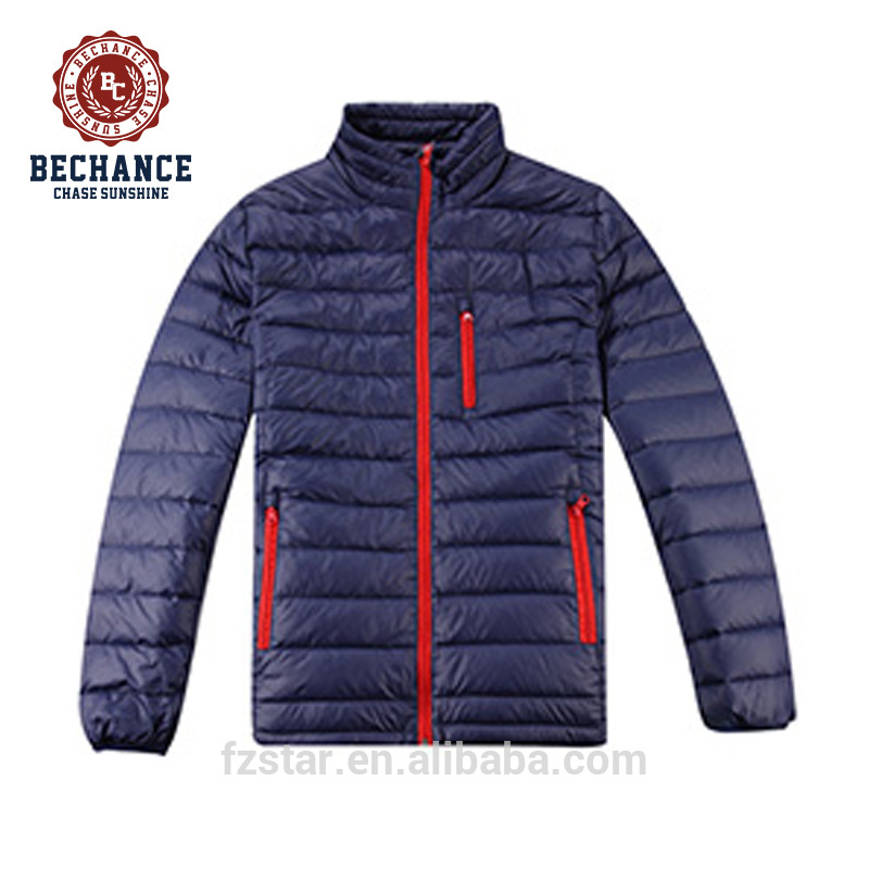 Winter Nylon Ultralight Duck Down Jacket for Man M1072