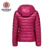 Fashion Ladies Winter And Autumn Hooded Short Slim White Duck Down Ultralight Down Jacket Wholesale Clothing