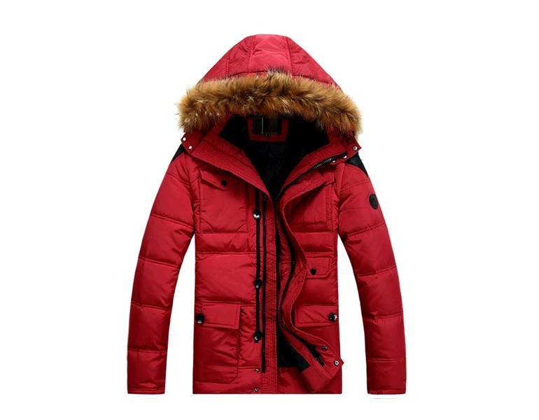 Military Style Down Jacket for Men PQ149
